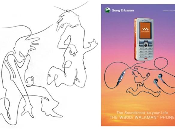 2D Air Guitar Character Illustration