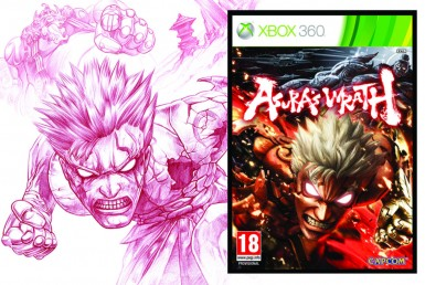 2D Asuras Wrath Character Illustration
