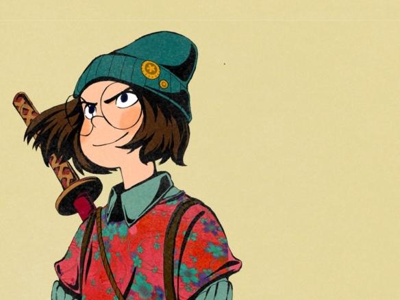 2D Hero Character Illustration