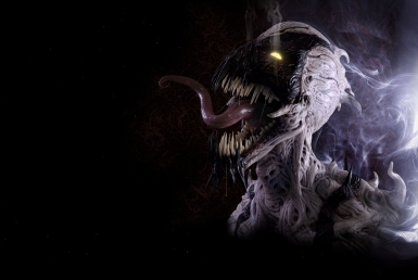 3D Marvel Anti Venom Character Illustration