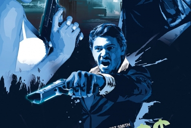2D Movie Trailer Film Graphic Digital Illustration