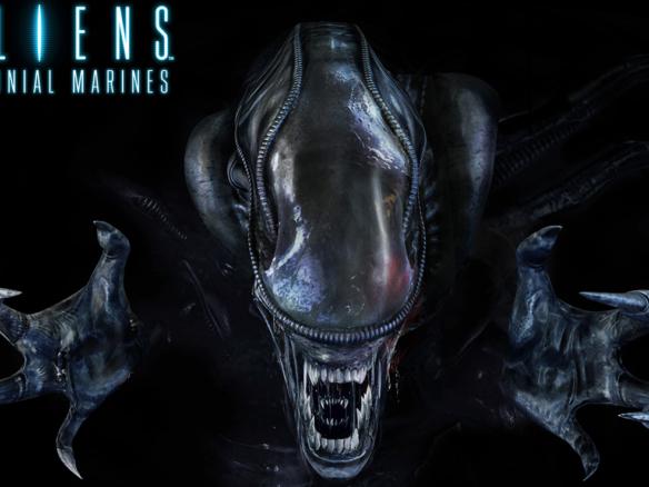 3D Alien Reaching Out Video Game Illustration Thumbnail