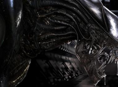 3D Alien Video Game Poster Illustration Thumbnail