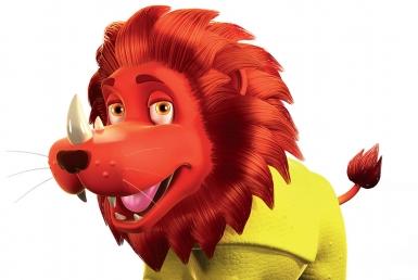 3D Animalgamation Lionoceros Jelly Sweets Product Illustration Thumbnail