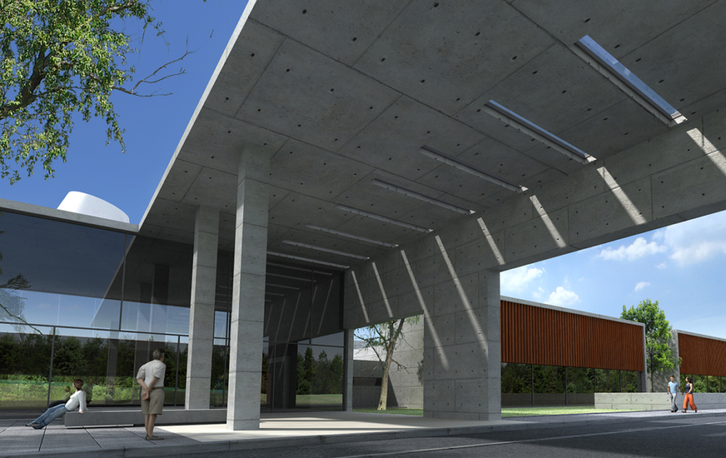 3D Architectual Flyover Illustration Thumbnail