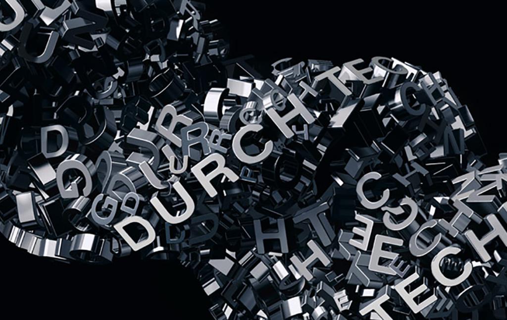 3D Audi Spinning Text Illustration