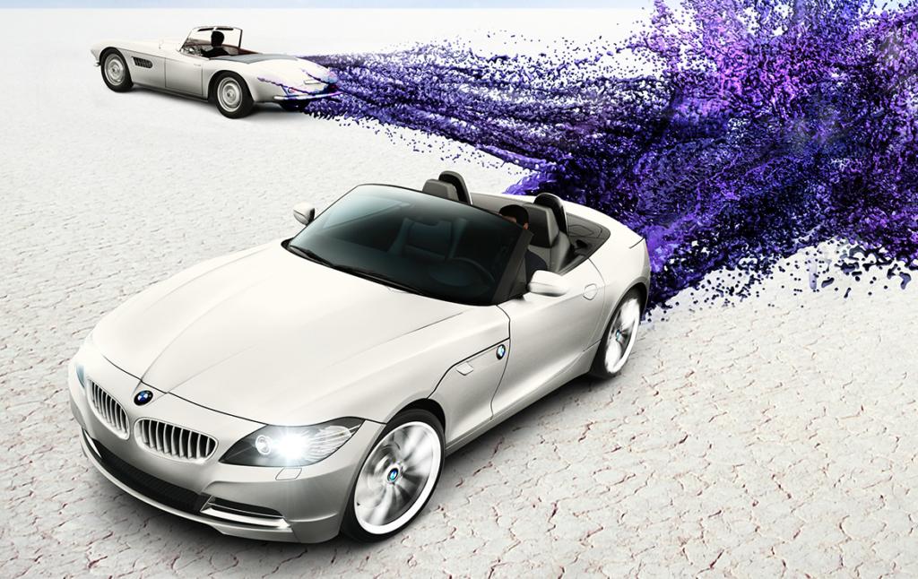 3D BMW 507 Z4 Series Car Illustration Thumbnail