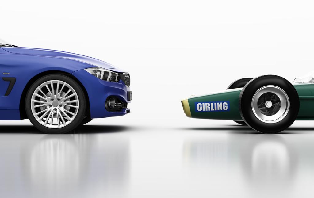 3D BMW Birling Car Illustration Thumbnail