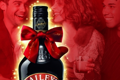 3D Baileys Orignal Irish Cream Product Illustration Thumbnail