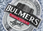 3D Bulmers Light Cider Logo on Ice Advertising Illustration