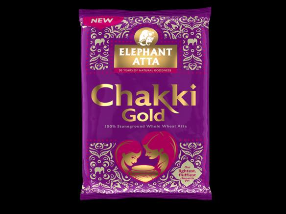 3D Chakki Gold Packaging Illustration Thumbnail