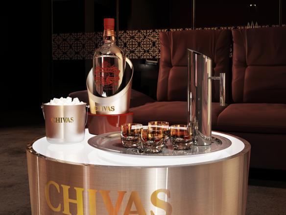3D Chivas Regal Product Illustration Thumbnail