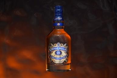 3D Chivas Regal Taste Sensation Bottle Drink Animation Thumbnail
