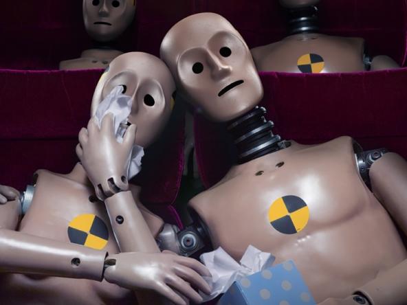 3D Cinema Crash Test Dummy Upset Character Illustration Thumbnail