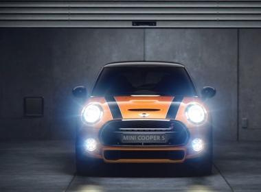 3D Cinematic City Mini Cooper Automotive Animation Thumbnail
