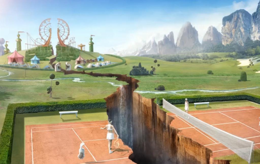 3D Cinematic Fantasy World Animation Thumbnail