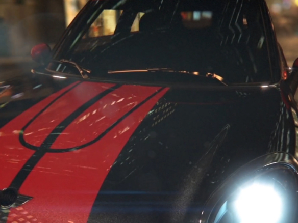 3D Cinematic Fast Car Mini Cooper Automotive Animation Thumbnail