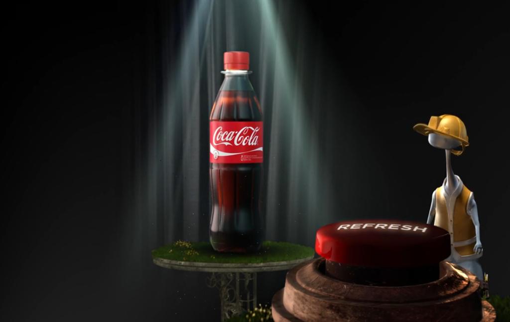 3D Coke Advertising Animation Thumbnail