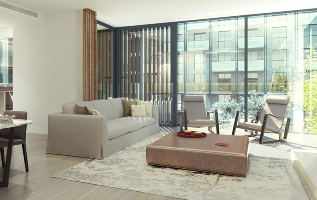 3D Contemporary Apartment Interior Illustration Thumbnail