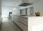 3D Contemporary Apartment Kitchen Interior Illustration Thumbnail