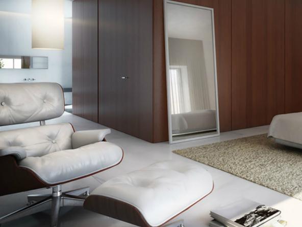 3D Contemporary Bedroom Interior Illustration Thumbnail