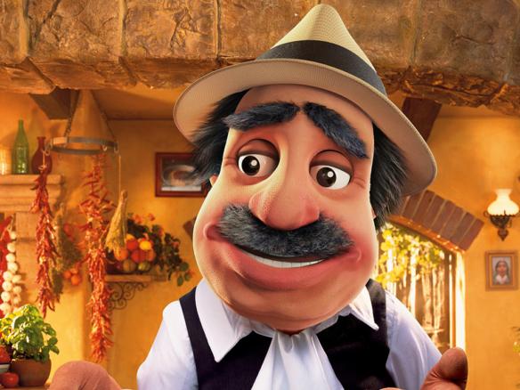 3D Dolmio Pasta Sauce Advertisement Character Illustration Thumbnail