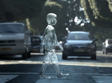 3D Glass Boy Road Safety Advertising Animation Thumbnail