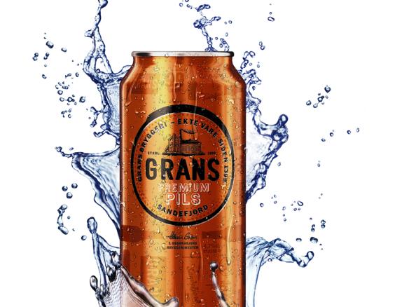 3D Drink Metal Grans Can Splash Illustration Thumbnail