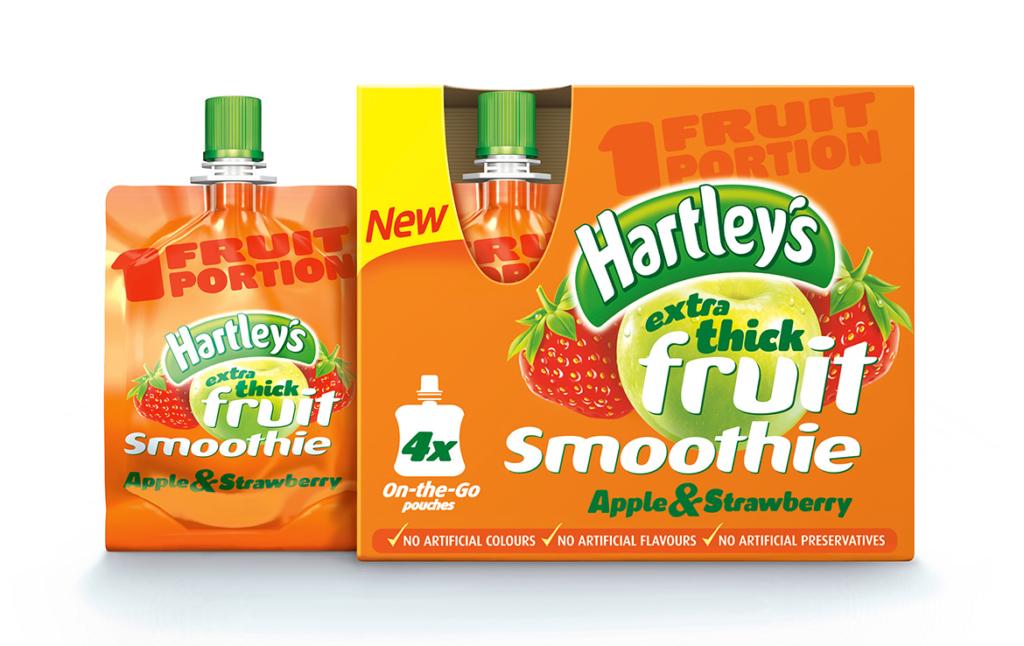 3D Hartleys Fruit Smoothie Childrens Soft Drink Product Illustration Thumbnail
