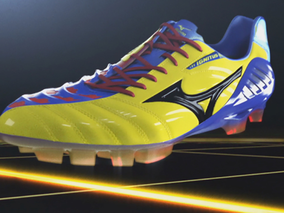 3D Ignitus Football Boot Product Illustration Thumbnail