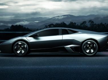 3D Lambogini Vehicle Illustration Thumbnail
