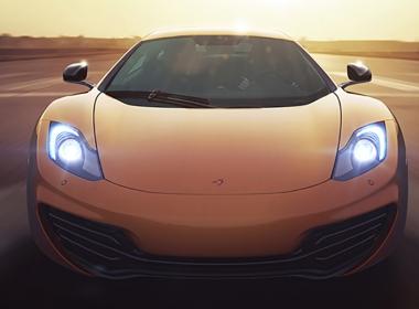 3D Maclaren Automotive Illustration Thumbnail