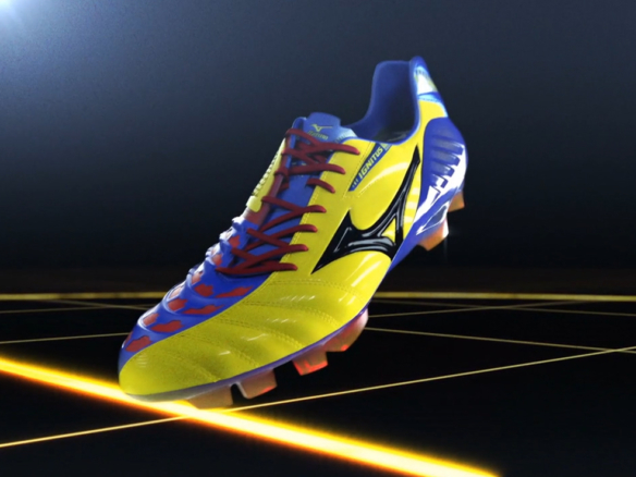 3D Mizuno Ignitus Football Boot Advertising Animation Thumbnail