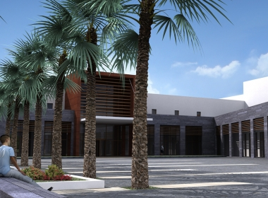 3D Modern Contemporary Building Complex Thumbnail