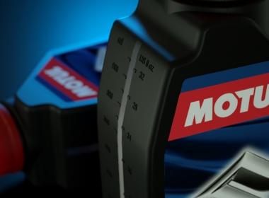 3D Motul Oil Bottle Illustration Thumbnail