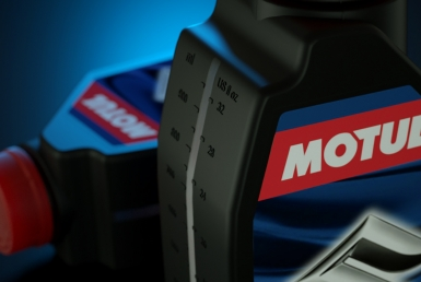 3D Motul Oil Bottle Illustration Thumbnail