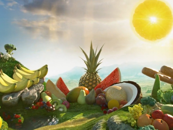 3D Ocado Food and Drink Advertising Animation Thumbnail