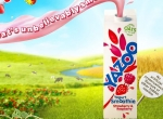 3D Liquid Yazoo Yogurt Bottles Product Illustration Thumbnail