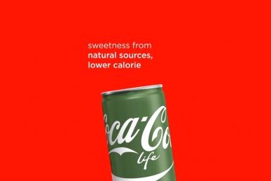 2D Coke Life Motion Graphics Advertisement Animation Thumbnail