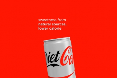 2D Diet Coke Motion Graphics Advertisement Animation Thumbnail