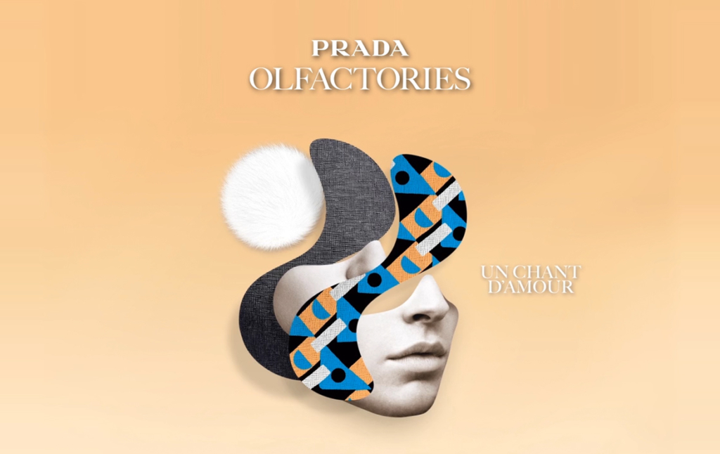 2D Prada Oil Makeup Advertising Motion Graphics Thumbnail