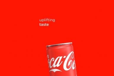 2D Regular Coke Motion Graphics Advertisement Animation Thumbnail