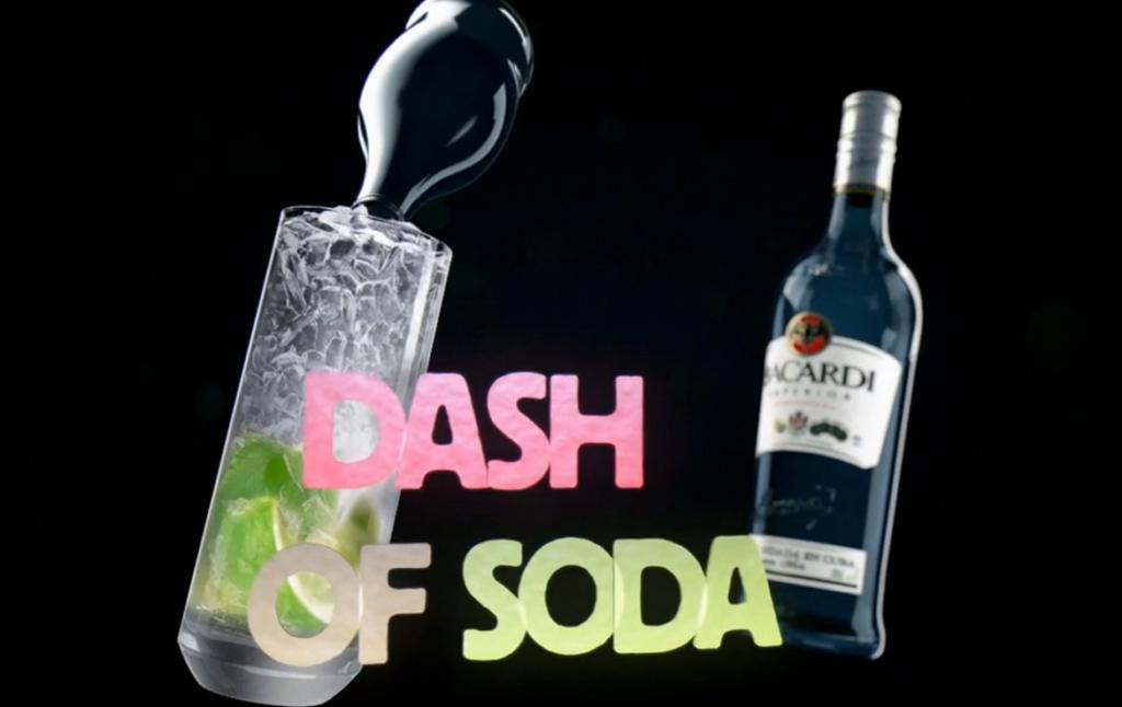 3D Bacardi Drink Motion Graphics Animation Thumbnail