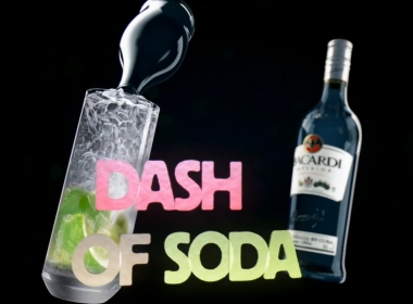 3D Bacardi Drink Motion Graphics Animation Thumbnail