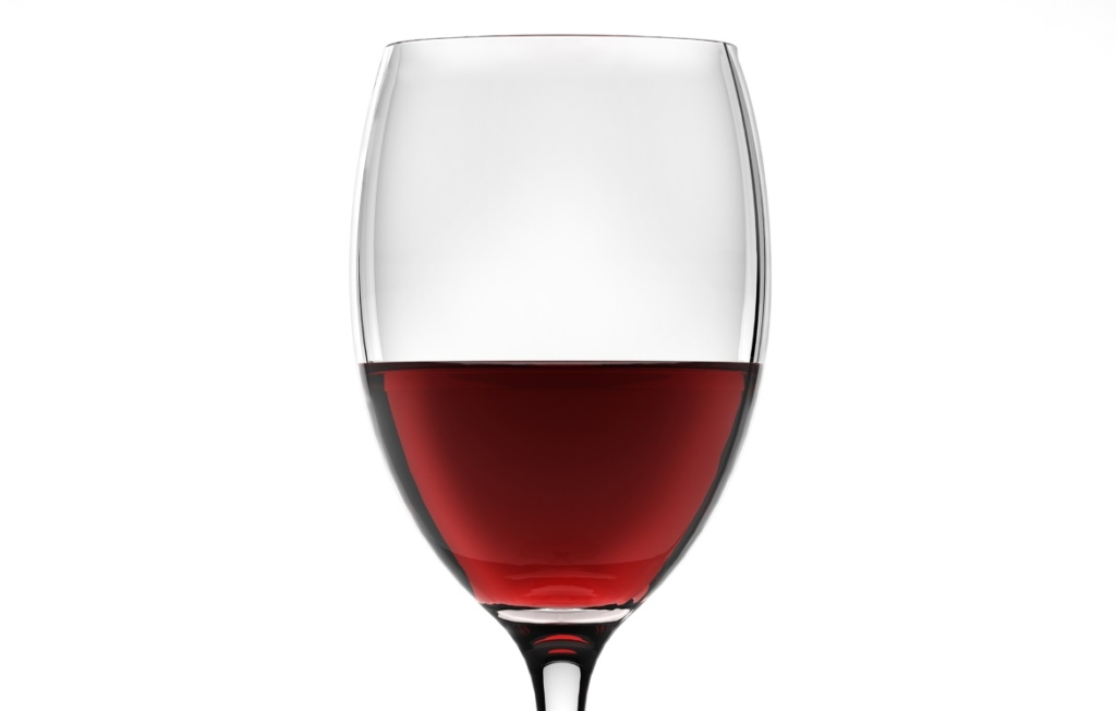 3D Red Wine Liquid in Wine Glass Illustration thumbnail