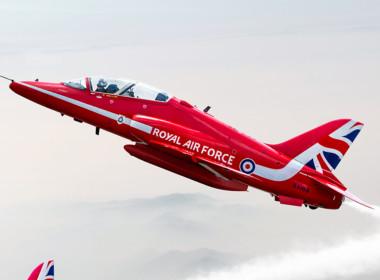 2D Red Arrows Jet Planes Photo Retouch Illustration Thumbnail