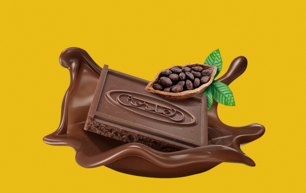 3D Coco Bean Chocolate Biscuit Illustration Thumbnail