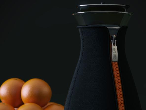 3D Coffee Shot Bottle Illustration Thumbnail