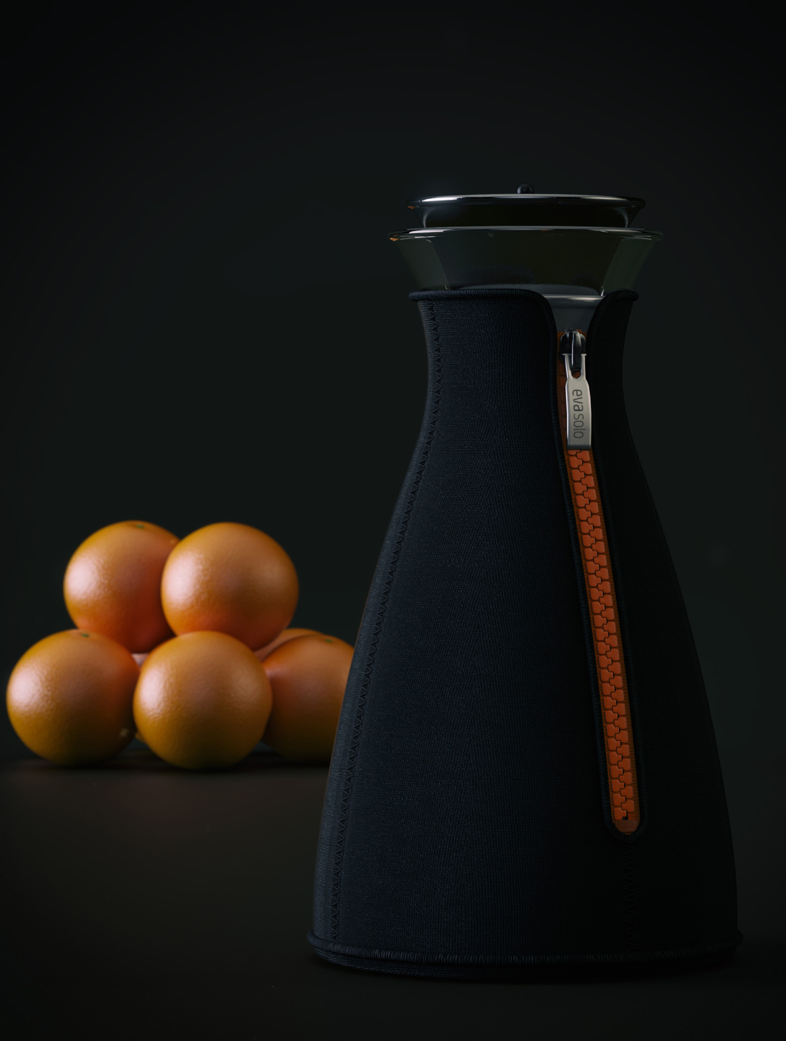 3D Coffee Shot Bottle Illustration