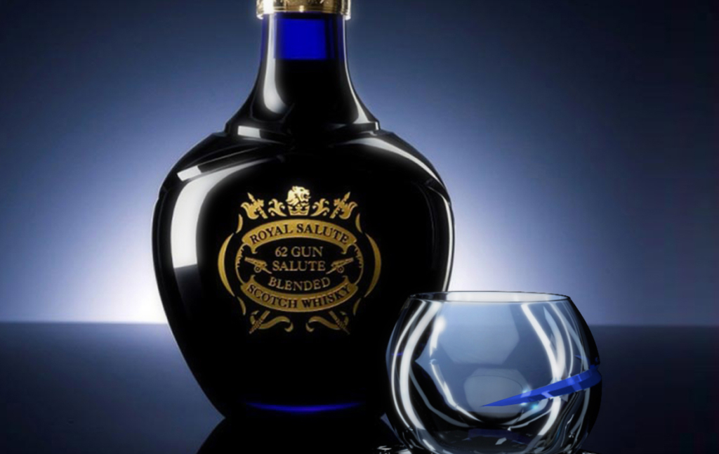 3D Montage Whisky Bottle Illustration Thumbnail